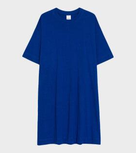 T-shirt Dress Bright Blue