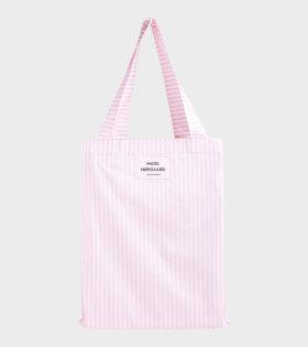 Mads Nørgaard  - Sacky Atoma Bag White Alyssum/Light Pink