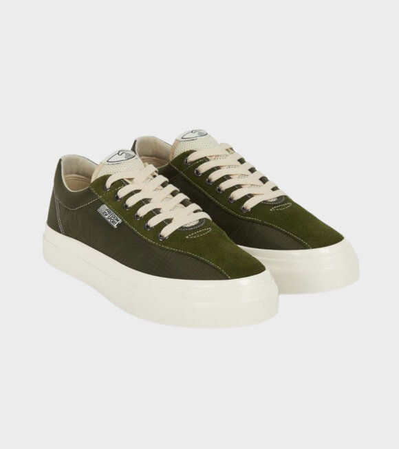 Stepney Workers Club - Dellow Track Nylon Olive Green
