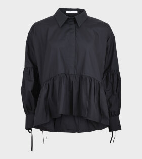 Andrea Shirt Organic Cotton Black