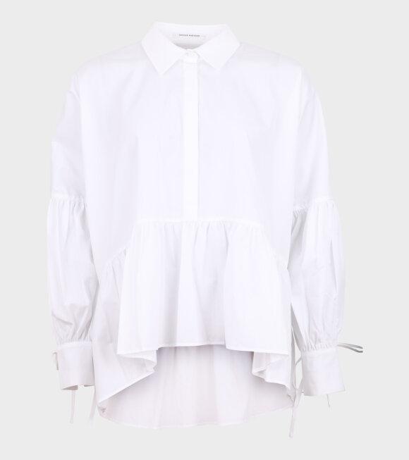 Cecilie Bahnsen - Andrea Shirt Organic Cotton White