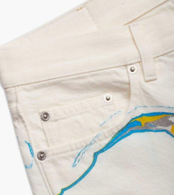 Sunflower - Standard Jeans White
