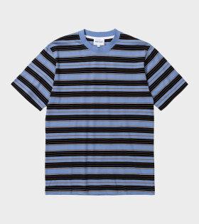 Norse Projects - Johannes Multi Stripe T-shirt Blue