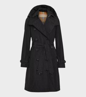 Burberry - Kensington Polyester Jacket Black