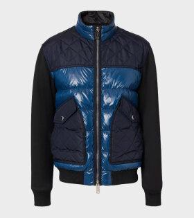 Burberry - Copford Jacket Teal Blue