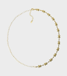Wilhelmina Garcia - Lady Elliot Necklace White/Gold