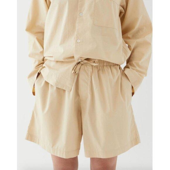 Tekla - Pyjamas Shorts Khaki