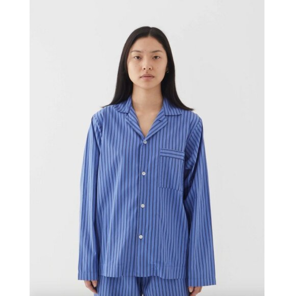 Tekla - Pyjamas Shirt Boro Stripes