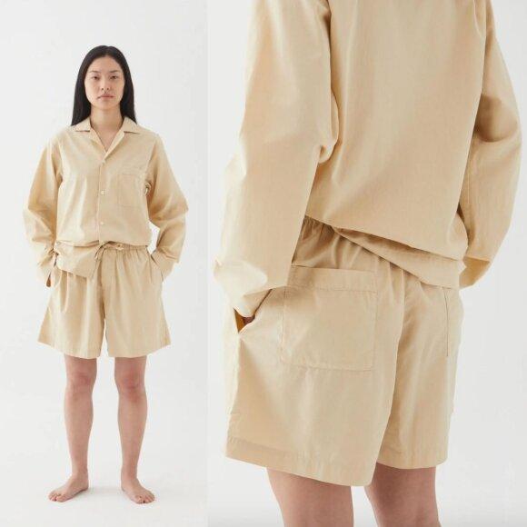 Tekla - Pyjamas Shirt Khaki