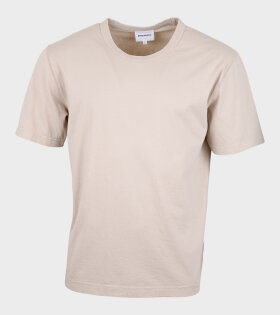 Norse Projects - Johannes GMD T-shirt Beige
