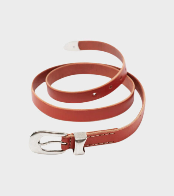 Our Legacy - 2 CM Aranica Orange Leather