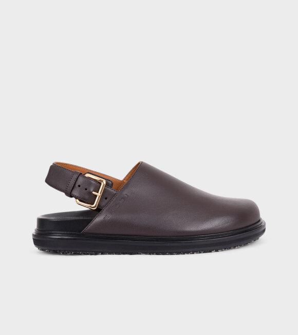 Marni - Fussbett Shoe Brown