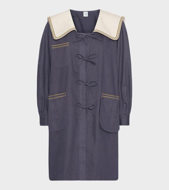 Holly Golightly - Sailor Coat Navy