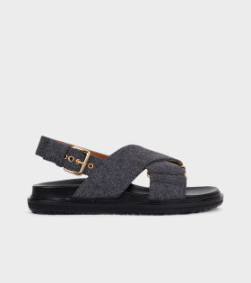 Fussbett Sandal Grey