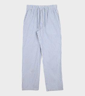 Tekla - Pyjamas Pants Placid Blue Stripes