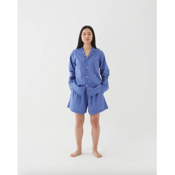 Tekla - Pyjamas Shorts Boro Stripes