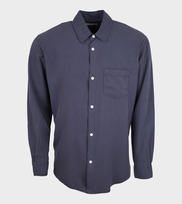 Our Legacy - Initial Shirt Vintage Blue Fine Silk