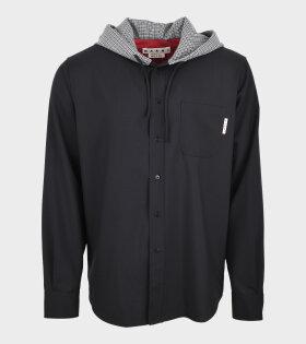 Hooded Shirt Black