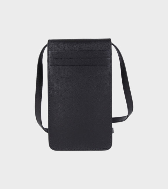 Marni - Phone Pouch On Strap Black