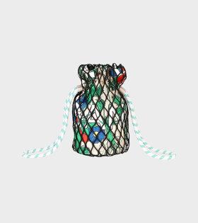 Ganni - Fishnet Mini Bag Brazillian Sand