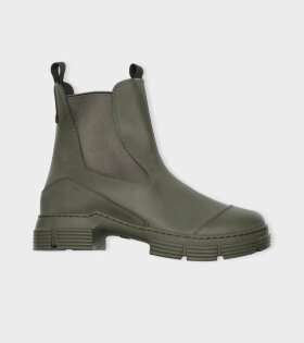 Ganni - Recycled Rubber City Boots Kalamata