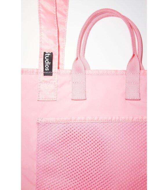 Acne Studios - Logo Plaque Tote Bag Pink
