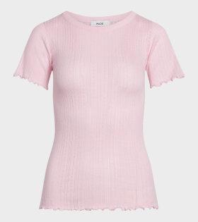 Mads Nørgaard  - Trixa T-shirt Light Pink