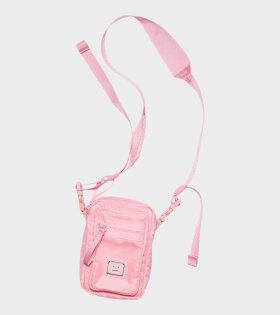 Logo Plaque Pocket Bag Pink
