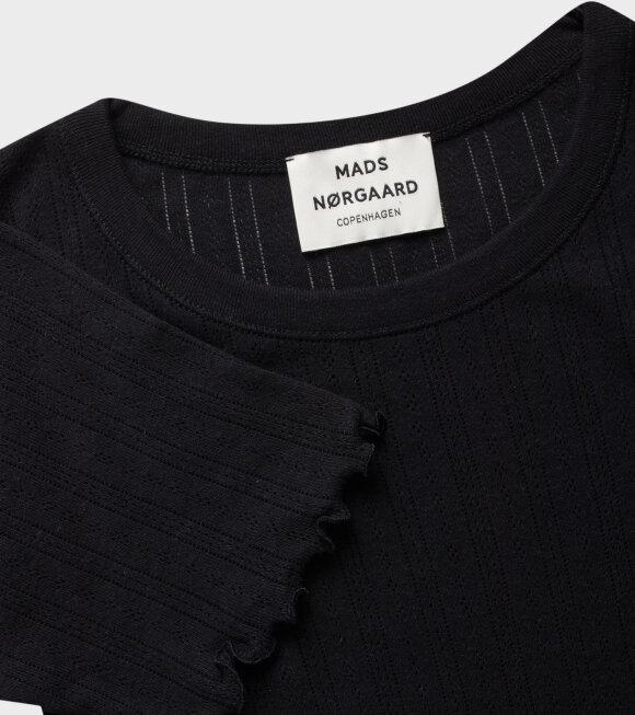 Mads Nørgaard  - Trixa T-shirt Black