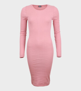 Nørgaard Paa Strøget - 101 Rib John Dress Light Pink