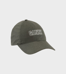 Ganni - Software Logo Cap Green