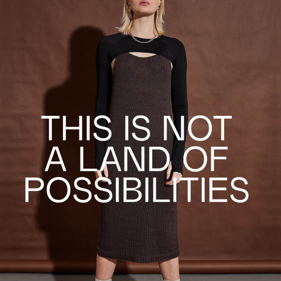 Boring Knit - Boring Dress Brown