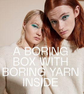 Boring Knit - Boring Sweater Grey