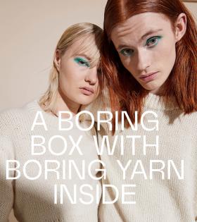 Boring Knit - Boring Sweater White