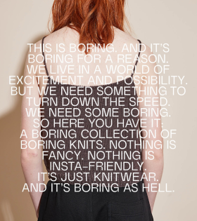 Boring Knit - Boring Top Brown