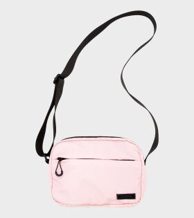 Ganni - Recycled Tech Fabric Bag Pink