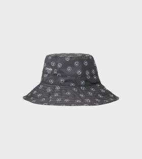 Ganni -  Recycled Bucket Hat Black