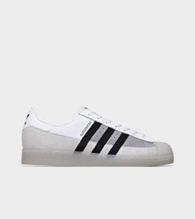 Adidas  - Superstar White/Grey