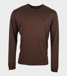 LS T-shirt Light Chestnut Brown