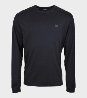 LS T-shirt Light Black