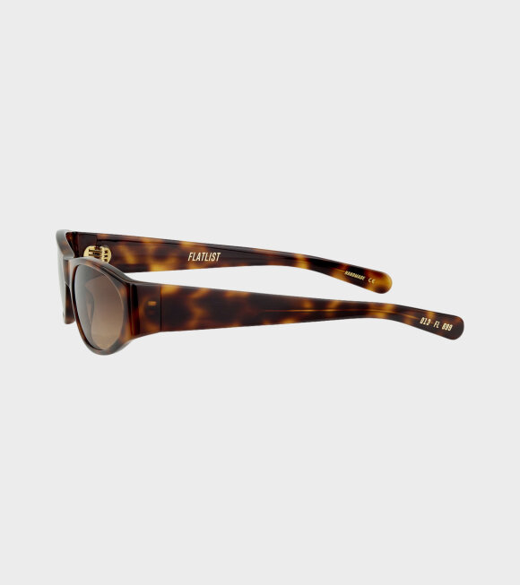 Flatlist - Eddie Kyu Tortoise/Brown Gradient Lens