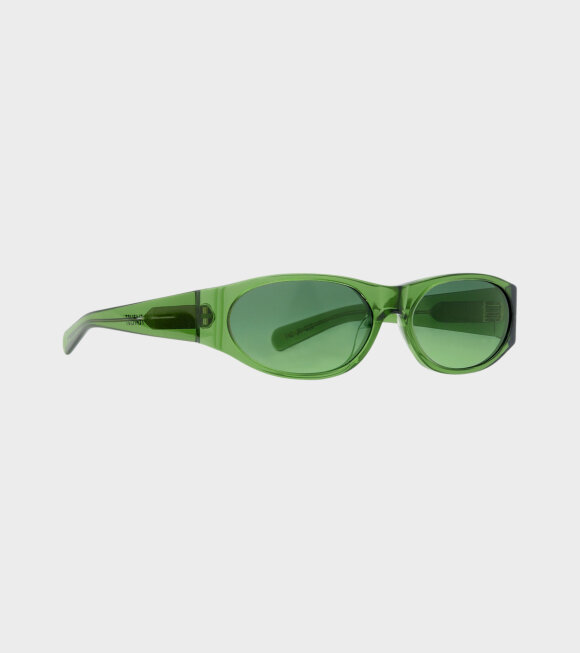 Flatlist - Eddie Kyu Solid Green/Green Gradient Lens