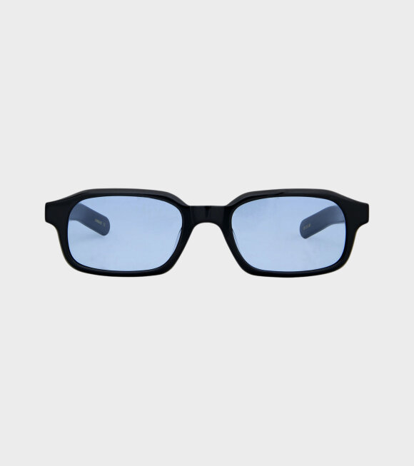 Flatlist - Hanky Solid Black/Solid Blue Lens