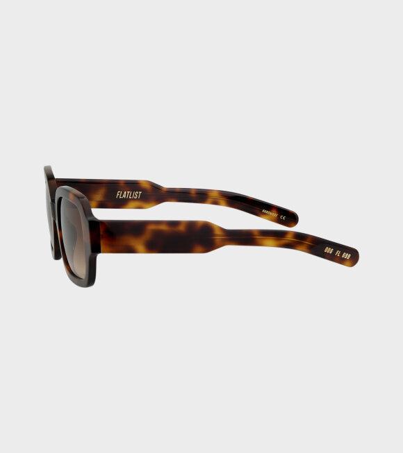 Flatlist - Tishkoff Tortoise/Brown Gradient Lens