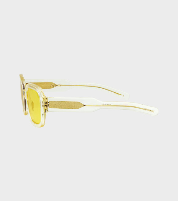 Flatlist - Tishkoff Crystal Yellow/Solid Yellow Lens