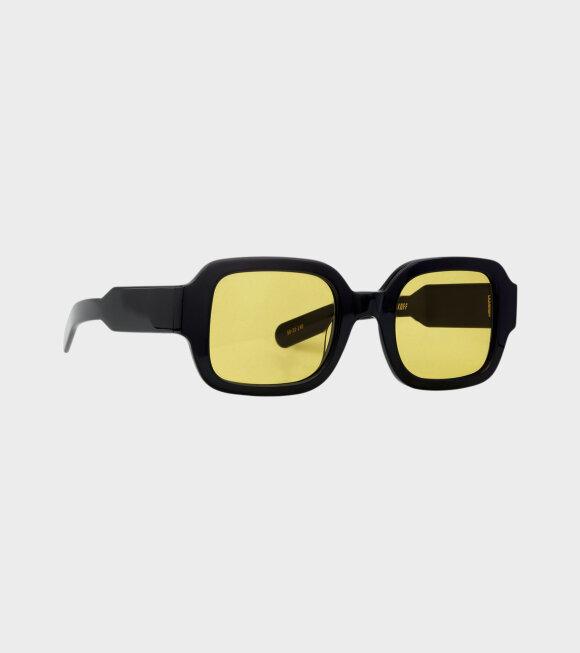 Flatlist - Tishkoff Solid Black/Solid Yellow Lens