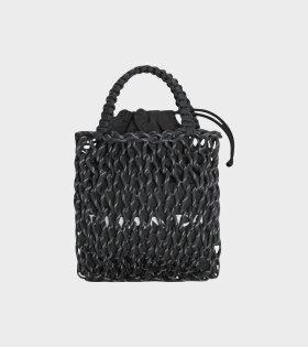 Small Jumbo Mesh Bag Black