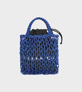 Small Jumbo Mesh Bag Blue