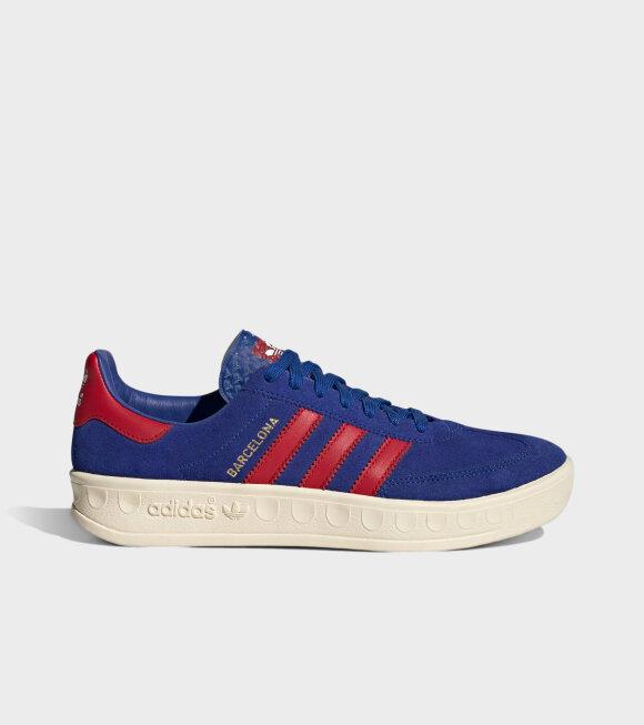 Adidas  - Barcelona Blue/Red