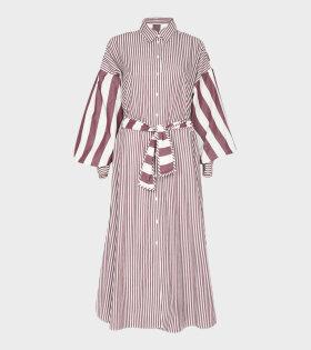 Malie - Galette Dress Burgundy